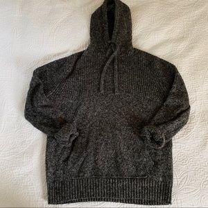American Eagle Grey Hooded Sweater